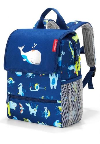 Reisenthel BackPack Kids ABC Friends Blue A3D56KCBB862D4GS_1