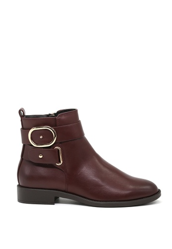London Rag red Carol Chelsea Boots SH1426 E6E10SH0253407GS_1