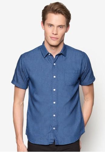 Basic Casual Collar Short Sleeve Shirt、 服飾、 襯衫ZALORABasicCasualCollarShortSleeveShirt最新折價