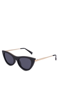 b548c52bffa Le Specs black Enchantress Sunglasses C5AB2GLDC66B9CGS 1