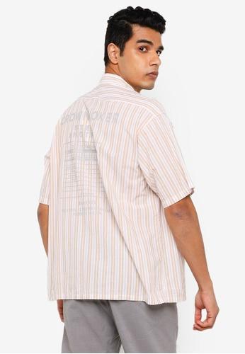 RAGEBLUE brown Casual Woven Shirt 041B3AA41CFC37GS_1