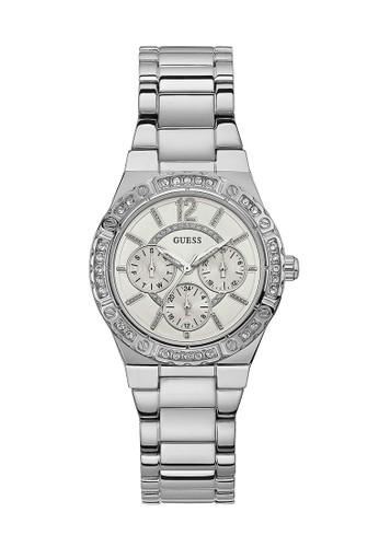 Guess Watch silver Guess Jam Tangan Wanita - Silver - Stainless Steel - W0845L1 25920ACECE4D42GS_1
