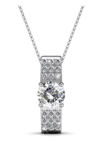 Her Jewellery silver Swarovski® Crystals - Luxx Set (18K White Gold Plated) Her Jewellery HE581AC0RD8RMY_1