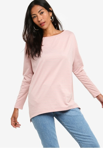 ZALORA BASICS pink Basic Relax Top 16EC3AAD3814A2GS_1