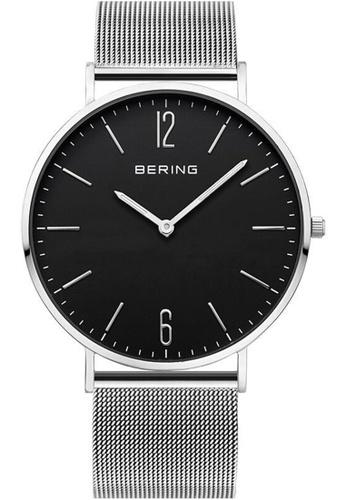 Bering black and silver Bering Classic Black 41 mm Men's Watch (14241-002) 30B38AC0DA42B5GS_1