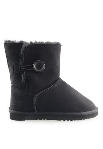 Footspot black FOOTSPOT - Classic Snow Boots FO296SH2WCB9HK_1