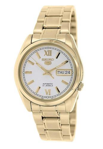 Seiko gold Seiko 5 Gold Stainless Steel Watch 664ABAC10EF1E8GS_1