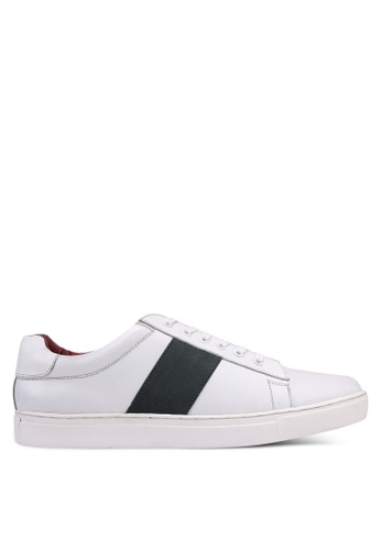 Acuto white and multi Leather Sneakers 8A4B4SHB774C84GS_1