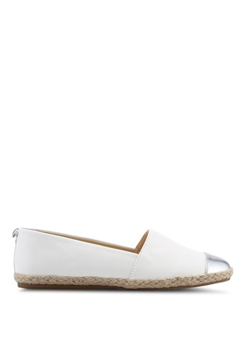 Nose 白色 金屬感懶人鞋 58C88SHBF9137FGS_1