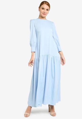 REALFANTASY blue Inaya Dress Baby Blue B6E0CAA0ECD7E9GS_1