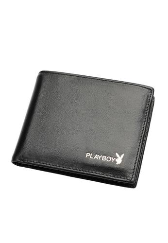 Playboy black Bifold Brand Wallet 9F29AACB93C0CCGS_1