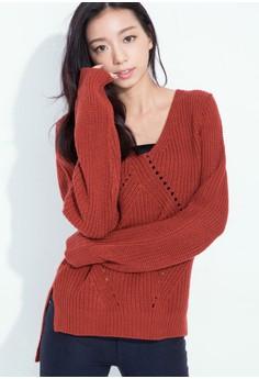 Fuzzy Coziness Knit Sweater