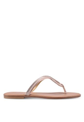 ALDO 米褐色 Orietta Sandals B6FB2SHF371EFAGS_1