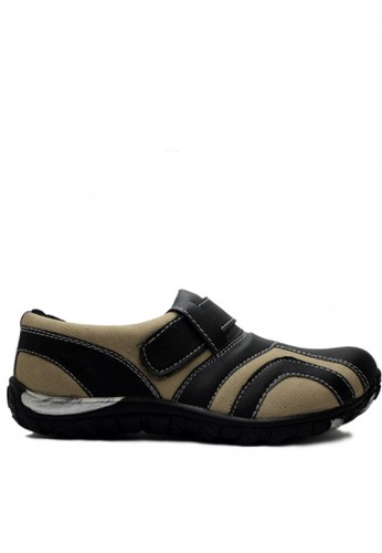 D-Island brown D-Island Shoes Mens Fashion Casual Sports Canvas & Leather Brown DI594SH95YIUID_1