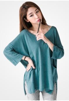 Casual Sense Oversized Pullover