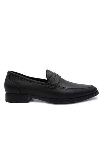 Goldlion black Goldlion Premium Loafer Shoes in Black (HSH207SP92B-99) 30469SH8F7D01DGS_1