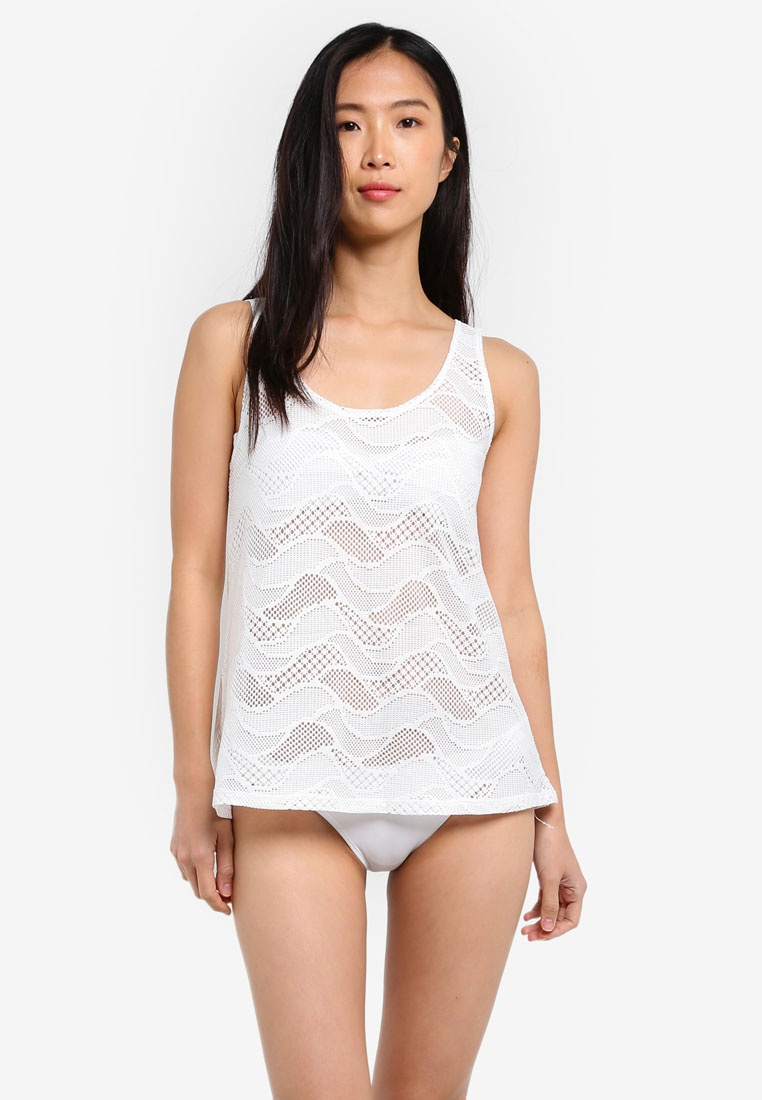 White Top Funfit Funfit Shift Shift xIqSg8wF8