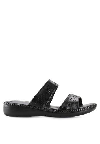 c89164e61f21 BETTINA black Sandal Elizabeth BE073SH00TOPID 1