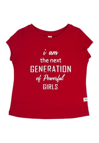 MOOSE GIRL red Printed Blouse For Girls Infant B06ABKA6F479CBGS_1