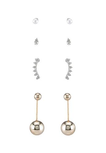 Red's Revenge gold Z36 Assorted Earrings Set RE144AC0SSUVMY_1