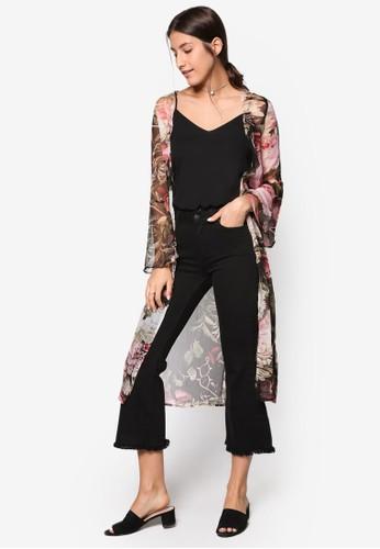 Love 長寬袖長版開襟外套、 服飾、 外套ZALORALove長寬袖長版開襟外套最新折價