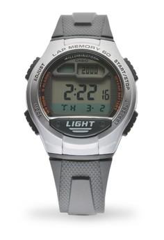 Round Digital Watch W-734-1A