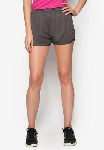 撞色細節跑步esprit暢貨中心短褲, 服飾, 服飾