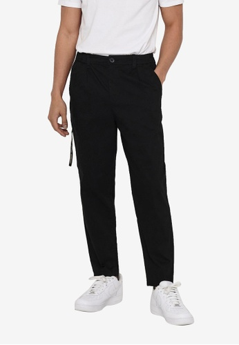 Only & Sons black Dew Life Chino Tapered Pants Pk 8645 6E0D2AA2A9C40AGS_1