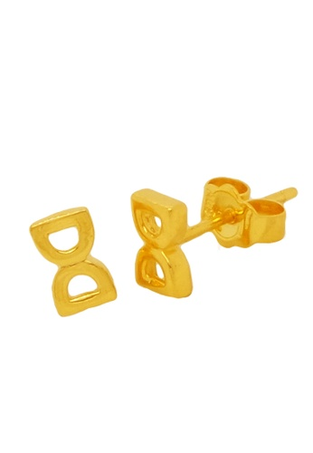 LITZ gold LITZ 916 (22K) Gold Horseshoe Earrings FEBE4AC10DE0A0GS_1