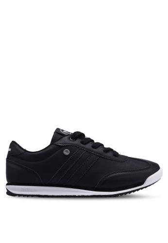 North Star 黑色 綁帶運動鞋 F1F80SH6EC44CEGS_1