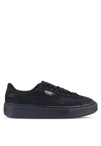 a4c08adce80 PUMA black Sportstyle Prime Suede Platform Artica Women s Shoes  1805BSHD19A002GS 1