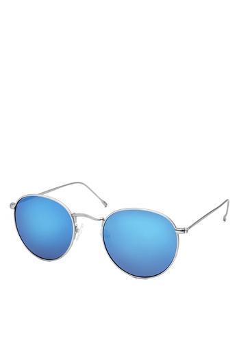 HEX EYEWEAR silver Carrier No.0506|Sunglasses|Eyewear 70FBAGLE74C56DGS_1