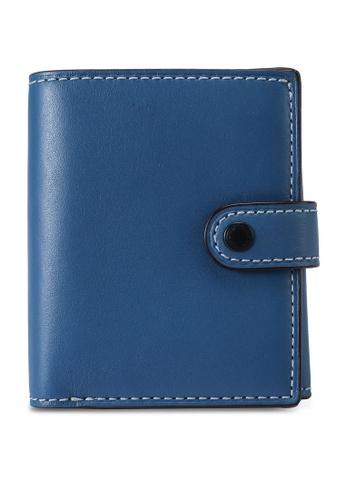 Coach blue Small Slim Trifold Wallet (cv) BE2EEAC5D992B5GS_1