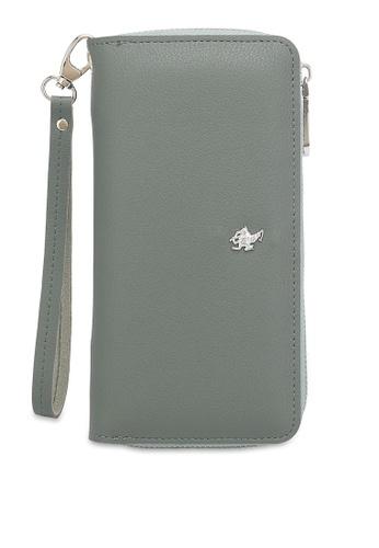 Swiss Polo 綠色 Zipper Wallet 4935AACA66E1B7GS_1