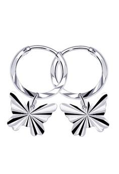 Butterfly 2 Loop Dangling Earring
