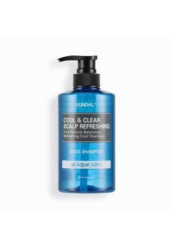 KUNDAL [KUNDAL] Cool & Clear Scalp Refreshing Cool Shampoo 500ml Aqua Mint 306B7BEC3A5CEFGS_1