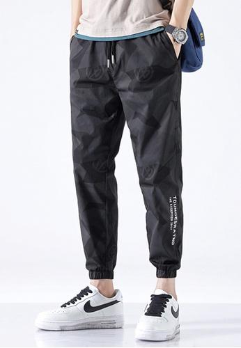 Trendyshop black Camo Skinny Jogger Pants 915C9AA89DCC1AGS_1