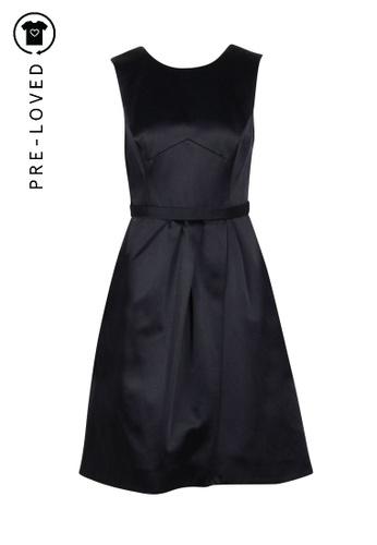 Jason Wu black Pre-Loved jason wu Black Sleeveless Flare Dress B2B1FAABB0EB58GS_1