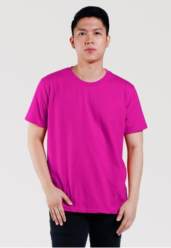 CROWN pink Men's Round Neck Tshirt 2259EAAC5812EAGS_1