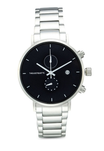 Thread Etiquette silver Explorer-Silver/Blue Timepiece CF351AC0A214E7GS_1