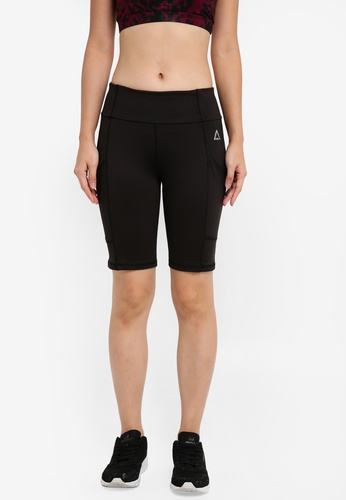 AVIVA black Short Pants ED0E9AA35DCF5CGS_1