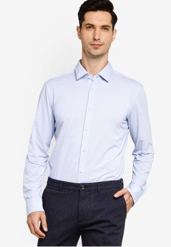 BOSS blue Jenno Long Sleeve Shirt DC329AA6A42686GS_1