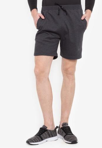 Allstar grey Cotton Terry Walking Shorts 28265AABB7DAA6GS_1