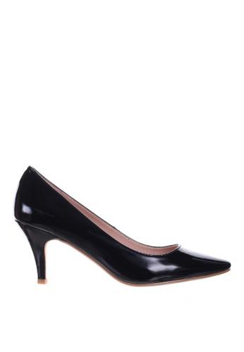 PRODUIT PARFAIT black Patent Stiletto Heel Pumps C2527SH24A7599GS_1