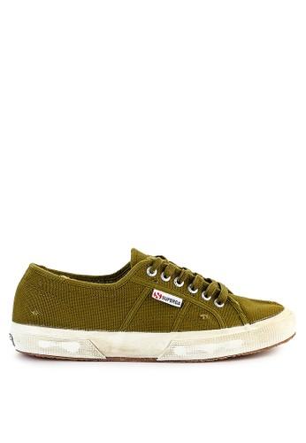 Superga green 2750 - Cotustonewash 6DE75SH9E1C984GS_1