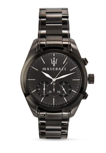 Maserati Traguardo Resprit女裝8873612002 男性計時功能手錶, 錶類, 飾品配件