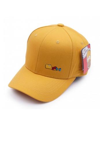 M-Wanted yellow M. The Simpsons Series Baseball Cap MW173AC91PLSSG_1