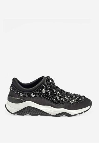 ASH 黑色 Muse Beads - 黑色人造鑽石運動鞋 B50CASHB03BD53GS_1