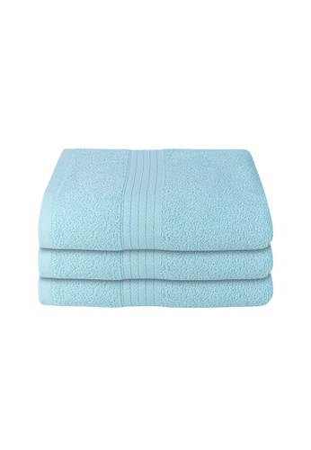 Milton Home SET OF 3 Milton Home Juro -SBT 100% Cotton Sports Bath Towel 60x110cm/ 270g. A3D43HL6C45CFEGS_1