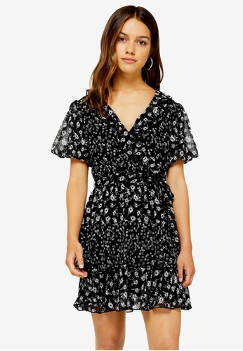 thoughts on buy popular authentic quality PETITE Ditsy Ruffle Mini Tea Dress